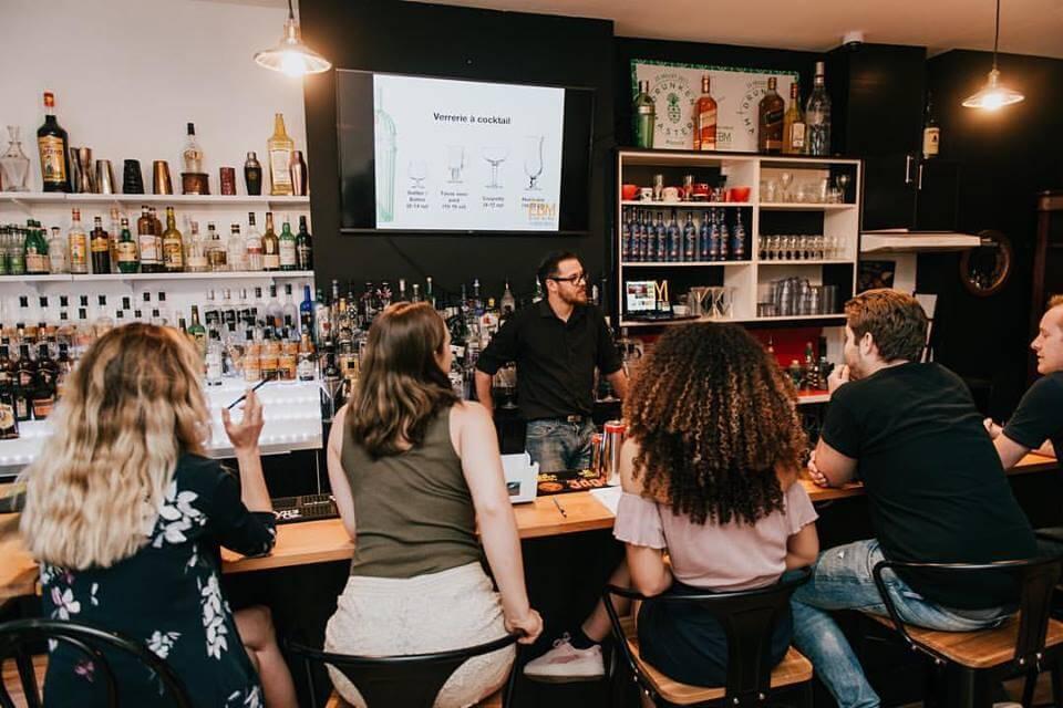 formation en bartending à l'école du bar de Montréal